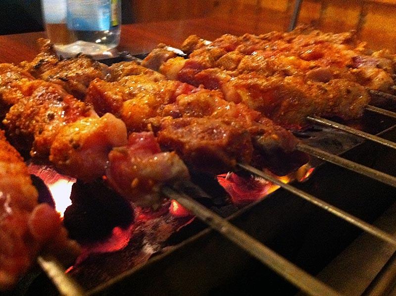 Feng Mao Mutton Kebab